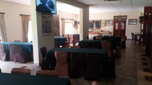 Bar Area and tables