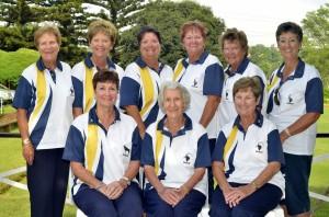 Sables Women Silver winners